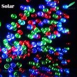O LED de energia solar quente 2018 caracteres de fadas para o Natal 50m 500LEDs RGB
