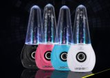 Haut-parleur de Bluetooth d'éclairage LED de l'eau de danse de 2017 Portable pour l'ordinateur