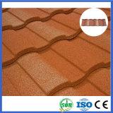 azulejo de azotea romano del metal revestido durable de la piedra del espesor de 0.4m m