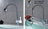 Pomme de douche Pullable printemps Universal récepteur de canal de l'eau du robinet
