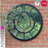 Hechos a mano resistente al agua campo Jardín decoración pared espejo redondo de metal