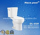 Tolette a due pezzi degli articoli sanitari per la stanza da bagno Accessoires (DL-029)