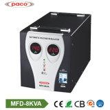 Высокое качество 8 КВА ОДНОФАЗНЫЙ AC автоматический регулятор напряжения
