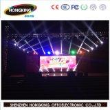 LED a todo color grande de interior que hace publicidad de la visualización P6