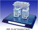 상징된 건축 모형 - Arc de Triomphe, 프랑스