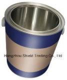 [2.8ل] مستديرة وعاء صندوق قصدير يستطيع معدنة مع غطاء