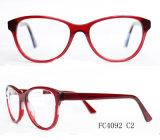 De Acetaat van vier Kleur Dame Eyeglass Optical Frame