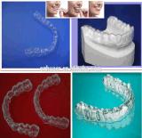 فراغ أسنانيّة يشكّل صفح صفح لتقويم الأسنان مادّيّة بلاستيكيّة
