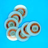 受動ISO14443A復旦FM08 RFID PVC明確なdisctagsの試供品
