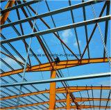 Taller prefabricado del almacén de almacenaje la estructura de acero