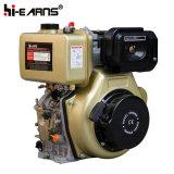 comienzo del retroceso del motor diesel 9HP con el eje de la chavetera (HR186FA)