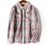 Европейские куртки заказов, сгущенных и плюшем проверенных рубашки