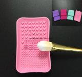 Alfombrilla para limpieza de brochas de maquillaje, maquillaje de la placa de ESG10375 Cepillo de limpieza