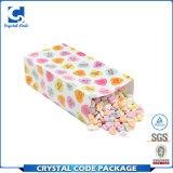 Saco de papel dos doces de Kraft do pacote do petisco com indicador
