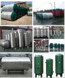 De veilige en Betrouwbare Fabrikant van de Tank van de Ontvanger van de Lucht van de Opslag van het Koolstofstaal van 13 Staaf Verticale