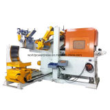 Macchina automatica dell'alimentatore della pressa con il raddrizzatore e Uncoiler