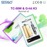 Migliori CIGS del vapore del E-Liquido di prezzi Tc-50W+Ghit K3 da Seego