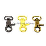 Hot Sale Pet en alliage de zinc Mousqueton pivotant pour sac de la chaîne d'accessoires (HS6095)