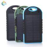 2 côté externe gauche d'énergie solaire de la batterie 5000mAh