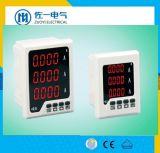 Mètre de panneau harmonique de Digitals de mètres électriques de mètre électrique du cadre 220V 50Hz monophasé de KWH Digital Meterac de C.C d'ampère de volt de pouvoir de fonction multi statique sèche de KWH