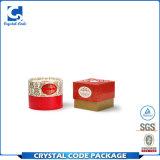 El OEM impermeable crea el rectángulo de papel redondo de la cartulina para requisitos particulares