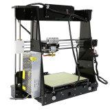 Imprimante chaude de la vente A8 3D de haute précision des prix les plus inférieurs avec le filament et la carte libres de FT