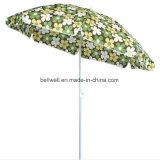 Parapluie personnalisé de publicité de parapluie de promotion d'inclinaison de polyester