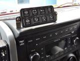 Iluminación Bluetooth del carro LED del jeep del sistema eléctrico del panel del interruptor Sp-8100