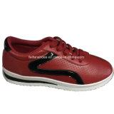 Отдых впрыски женщин высокого качества обувает подгонянные ботинки PU (YJ1216-11)