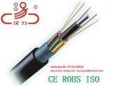 Optische Kabel van de Vezel van 48 Kern van de Kabel GYTS van de vezel de Optische Openlucht