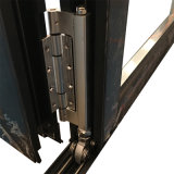 Portello Bifold aperto della rottura delle entrate principali della metà termica di disegno