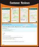 Hyundai 산타페이를 위한 예비 품목 완충기 334500 334501