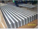 Metal revestido do zinco da alta qualidade que telha folhas galvanizadas corrugadas do telhado