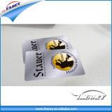 Plastik-VIP-Gold-und Silber-Mitgliedskarte