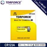 3V (CR123A) 5 Jahre SelbstDicharge China Fatory der Lagerbeständigkeits-0.00%Hg niedrige des Lithium-Li-Mno2 Batterie-