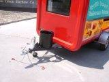 De TegenAanhangwagen van de Koffie van de Kar van het Dessert van het Voedsel van Churros van de bakkerij buiten