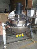 Нагрев электрическим током опрокидывая плита сока нержавеющей стали