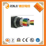 O PVC de cobre do núcleo isolou o cabo de controle blindado Sheathed PVC dos fios de aço