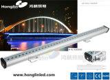 Arandela linear al aire libre de la pared de Intiground 1000m m DMX 24W LED de la iluminación
