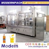 Llenado de bebidas de jugo de fruta triple línea de producción/Pulpa de Bebidas Máquina de Llenado
