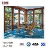 Стеклянная крыша Sunroom веранды зеленой дома обшивает панелями цены