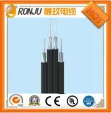Cavo elettrico di alluminio del fodero del PVC dell'isolamento del PVC di memoria