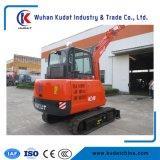 中国の有名なブランドの油圧クローラー掘削機4000kg