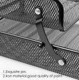 Продажи с возможностью горячей замены 3-слоев металлической сетки офис организатора