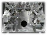 6-Cavity la lingotière de moulage mécanique sous pression pour la Partie-W de boîtier