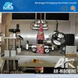 Máquina de etiquetado redonda de la funda del encogimiento de la botella del animal doméstico