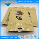 Kundenspezifische Farben-Plastiknahrungsmittelgrad-Reißverschluss, der Verbundbeutel verpackt