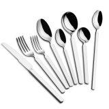 新しい方法ローズの金の食事用器具類は18/10本のステンレス鋼のスプーン及びフォークをセットした