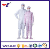Combinaison 2017 antistatique de vêtements de vêtement de DÉCHARGE ÉLECTROSTATIQUE de Cleanroom
