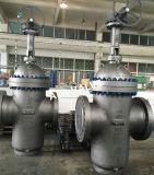 Metallsitzkohlenstoffstahl-Flansch-flache Platten-Stoffschieber API-6D